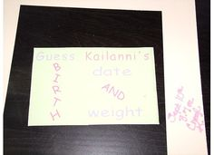 kailanni's weight and date