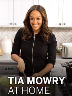 Tia Mowry at Home