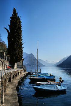 Lake Lugano - Switzerland (by Maritè Toledo)