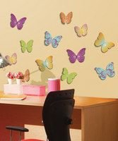 Transform your living space into a warm and welcoming home with this set of pop-up wall decals. They're easy to apply so you can install and arrange your wall art like a pro. Just peel the decal carefully off the backing paper, apply the adhesive layer to any clean, smooth and painted surface and there you have it! Fun, decorative accents adorn your home. The easily removable decals are great for use in bedrooms, playrooms, living rooms and more!• Include...