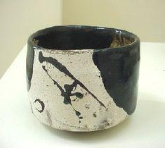 Shiro Tsujimura - Chawan #pottery #Japanese_pottery #ceramics #Japanese_ceramics #cup #teacup #chawan #tea_bowl