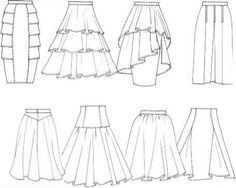 Sketch Skirt With Tiered Flounces Finishings And Trimmings - Figure Drawing - Martel Fashion Torvald wreck it Ralph 25 ideas for skirt pattern tiered All the pattern drawing you could possibly want. Illustration Mode, Fashion Illustration Sketches, Fashion Sketches, Fashion Design Sketchbook, Fashion Design Drawings, Dress Drawing, Drawing Clothes, Fashion Terms, Fashion Art