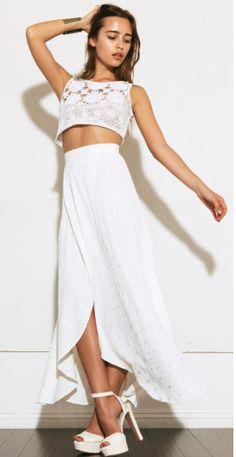 The Reformation Nessy skirt