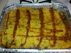 Enchilada Rice Casserole I replaced the brown & saffron rice w/ black rice and the ground turkey w/ soy chirizo