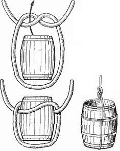 морские узлы - бочечный