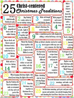 Awe Inspiring 5 Christmas Traditions For The Christ Centered Family Easy Diy Christmas Decorations Tissureus