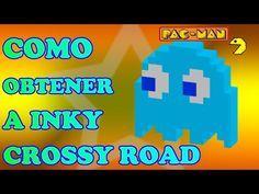 Como Desbloquear a Inky el Fantasma Secreto de Crossy Road PacMan - http://trucosparacrossyroad.com/como-desbloquear-a-inky-el-fantasma-secreto-de-crossy-road-pacman/