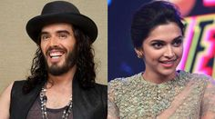 British comic Russell Brand can 'potentially fall in love with and marry Deepika Padukone