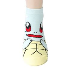 4 pairs Cute Pokemon 3D Printed Female Socks