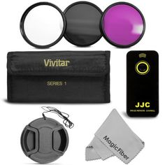 Essential Kit for NIKON DSLR Camera (D5100 D5000 D3200 D3000 D90 D80 D70s D70 D60 D50 D40X D40 D4) - Includes: Wireless Remote Control + Vivitar Filter Kit (UV, Fluorescent, Polarizer) + Center-Pinch Lens Cap + Premium MagicFiber Microfiber Cleaning Cloth by Goja. $15.99. - New IR Wireless Remote Control- 100% compatible with NIKON ML-L3 infrared remote control.- Powered by one CR2025 button cell (included). - RM-E2 can trigger your camera shutter release remotely from a d...