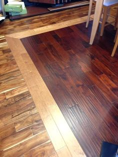 Transition Between Old Wood Floors And New Old And New Hardwoods With A Transition Strip Between Laundry Room Addition Pinterest Woods