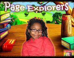 Virtual Book Club Page Explorers