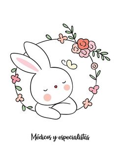 Hand Embroidery Stitches, Diy Embroidery, Embroidery Patterns, Cross Stitch Patterns, Motion Wallpapers, Cute Bunny Cartoon, Wreath Drawing, Doodles, Cute Cartoon Wallpapers