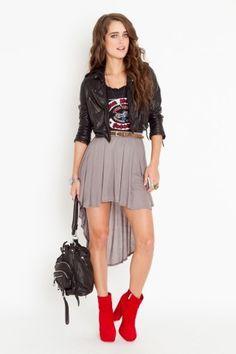 Hi Lo Skirt - NASTY GAL - StyleSays