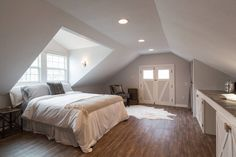 Ridiculous Tricks Can Change Your Life: Attic Interior Playrooms attic bathroom small.Attic Library cozy attic home theaters.Old Attic Bedroom. Attic Master Bedroom, Attic Bedrooms, Attic Bathroom, Bathroom Plans, Attic Playroom, Attic Loft, Attic Library, Garage Attic, Attic Ladder