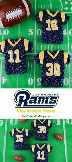 Los Angeles Rams Rice Krispie Treats. Superbowl ... f13c2ee59