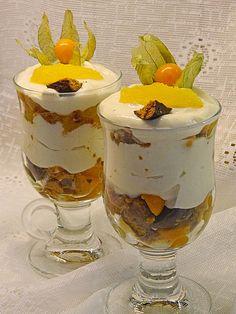 Orangen - Lebkuchen - Trifle