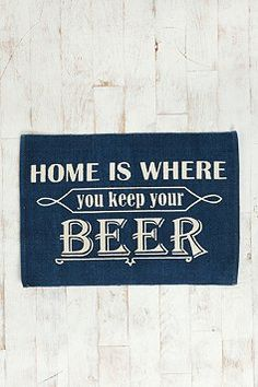 Home is where the #beer is