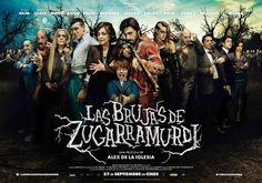 """Las brujas de Zugarramurdi, película dirigida por Alex de la Iglesia en 2013. Es una historia fantástica, por lo que la iluminación aporta el toque """"mágico"""" especialmente gracias a las dominantes de color."""