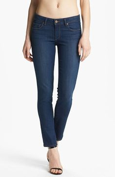 Paige Denim 'Skyline' Ankle Jeans (Libby) available at #Nordstrom