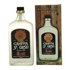 La grappa Sant'Orso nera richiama i profumi della montagna e viene distillata secondo le antiche ricette della tradizione valdostana.