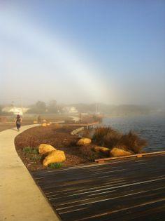 colourless rainbow anglesea river