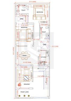 2bhk House Plan, 3d House Plans, Indian House Plans, Simple House Plans, Model House Plan, Duplex House Plans, House Layout Plans, Bungalow House Design, House Blueprints