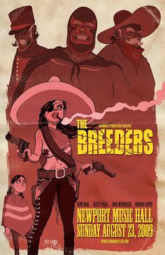 The Breeders - The Art of Jeff Lance - October 2009