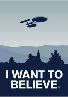 *( ͡ ͡° ͜ ͡ ͡°  )*           I want to believe that 'Star Trek' is better than 'Star Wars'.... but it isn't.