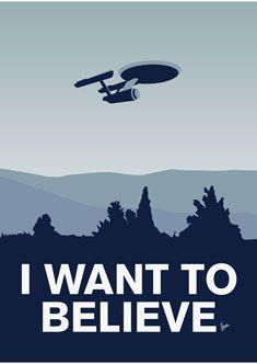 *( ͡ ͡° ͜ ͡ ͡°  )*           I want to believe that 'Star Trek' is better than 'Star Wars'.... but it isn't.