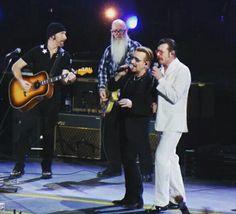 Eagles of Death Metal and U2 -Paris 2015