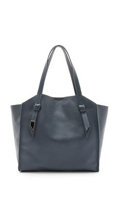Foley + Corinna Tye Perforated Tote
