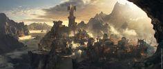 Cirith Ungol   Warmonger tribe -  Middle-earth™ : Shadow of War™, karakter design studio on ArtStation at https://www.artstation.com/artwork/kd8rz?utm_campaign=digest&utm_medium=email&utm_source=email_digest_mailer