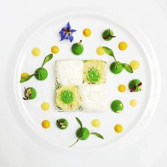 Crab salad never looked or tasted so dreamy @julienmontbabut #TheArtOfPlating #TAOPtravels #Paris
