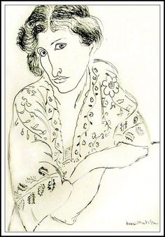 Portrait de femme, Henri Matisse (musée Maillol)