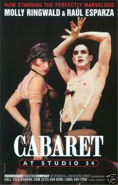 Cabaret Raul Esparza and Molly Ringwald