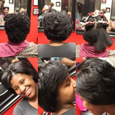 Natural Hair Blowout Styleseat Shamonadixon