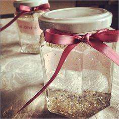 Wishing jars with fairy dust!