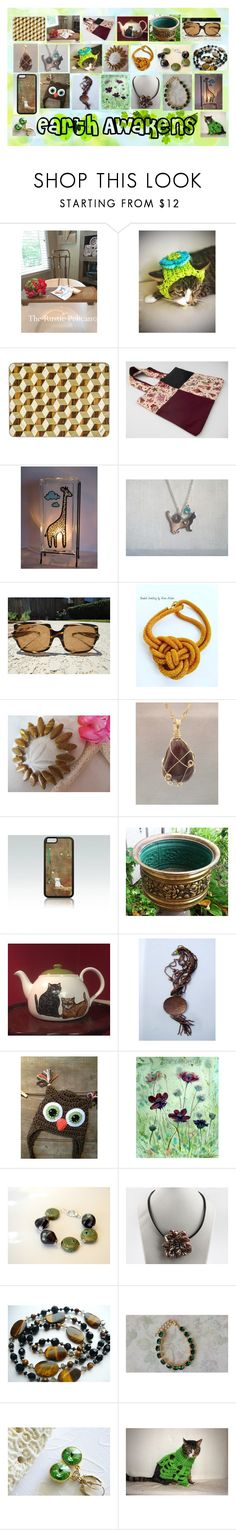 Earth Awakens: Vintage and Handmade Etsy Gifts by paulinemcewen on Polyvore featuring Fila, rustic and vintage