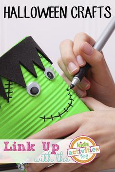 TONS of Halloween Crafts for Kids to Make! #creative #diy ideas