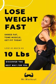 Losing weight quickly is a goal many people have. The most effective way to lose weight quickly is the best way. This list tells you the top 10 exercises! Workout To Lose Weight Fast, Weight Loss Workout Plan, How To Lose Weight Fast, Losing Weight, Fast Workouts, Workout Plan For Beginners, Workout Plan For Women, Shoulder And Arm Workout, Lose 10 Pounds Fast