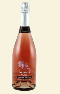 I have been told (thank you @Sheana Clark) that this wine is to die for- Amusant Bubbly Pink Moscato from Trader Joe's...