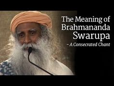 The Meaning of Brahmananda Swarupa - How it is a Consecrated Chant? - YouTube
