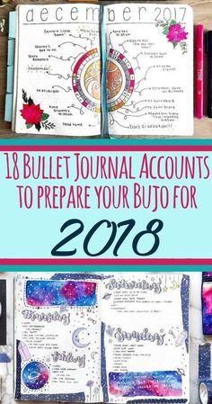 What you've been waiting for, here is the list of the 18 most inspirational and influential bullet journal accounts for 2018! This article brings everything bujo straight to you! Get information about layouts, blog posts, ideas, setup, supplies, and so much more. This is a perfect place if you want to know how to start a bullet journal. Go check out all the artists, and be prepared to enjoy a full calendar year of inspiration! #bulletjournal #bulletjournalcommunity #bulletjournalideas