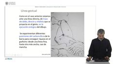 La linea gestual en el dibujo de modelo en el aula      UPV Upv, Youtube, Studio, Memes, Templates, Pattern Drawing, Figure Drawing, Human Figures, Author