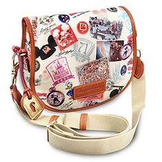 Disney Dooney & Bourke - Walt Disney World Anniversary Small Messenger Bag Dooney And Bourke Disney, Disney Dooney, Dooney Bourke, Disney Inspired Outfits, Disney Outfits, Disney Style, Disney Clothes, Disney Fashion, Disney Handbags