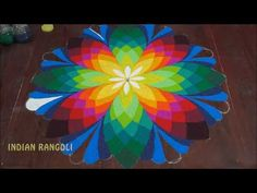 Amazing Beautiful Diwali SPECIAL Rangoli Design for you brought to you by Indian Rangoli. Stay tuned for more simple and Best Rangoli Designs. new year 2018 . Rangoli Designs Latest, Rangoli Designs Flower, Small Rangoli Design, Colorful Rangoli Designs, Rangoli Ideas, Rangoli Designs Diwali, Rangoli Designs Images, Flower Rangoli, Beautiful Rangoli Designs