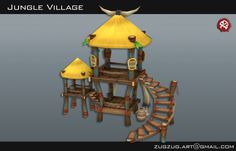 Environment for RPG Tanzia by Mr Zug Zug at Coroflot.com