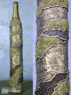 Декоративная бутылка ручной работы: декор, флористика