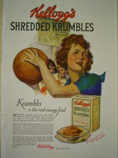 Kellogg's Shredded Crumbles Cereal (1920)
